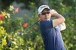 Masahiro Kawamura of Japan tees off during the 58th UBS Hong Kong Golf Open as part of the European Tour on 09 December 2016, at the Hong Kong Golf Club, Fanling, Hong Kong, China. Photo by Vivek Prakash / Power Sport Images
