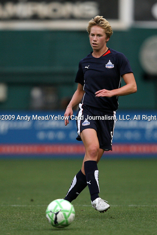 18 July 2009: Washington's Joanna Lohman. The Washington Freedom defeated Saint Louis Athletica 1-0 at the RFK Stadium in Washington, DC in a regular season Women's Professional Soccer game.
