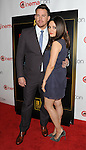 Channing Tatum and Mila Kunis at the Warner Bros Red Carpet At CinemaCon 2014 arrivals held at Caesars Palace Hotel in Las Vegas Nevada on March 27, 2014.