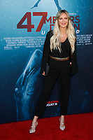 Los Angeles, CA - AUG 13:  Jasmine Dustin attends the Los Angeles Premiere of '47 Meters Down: Uncaged' at Regal Village Theater on August 13 2019 in Los Angeles CA. Credit: CraSH/imageSPACE/MediaPunch