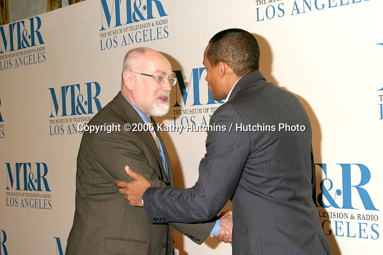 Robert David Hall & Hill Harper.Museum of TV & Radio Annual Gala IHO Les Moonves and Jerry Bruckheimer.Regent Beverly Wilshire Hotel.Beverly Hills, CA.October 30, 2006.©2006 Kathy Hutchins / Hutchins Photo....