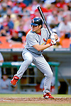 4 August 2007: St. Louis Cardinals first baseman Scott Spiezio in action against the Washington Nationals at RFK Stadium in Washington, DC. The Nationals defeated the Cardinals 12-1 in the second game of their 3-game series...Mandatory Photo Credit: Ed Wolfstein Photo