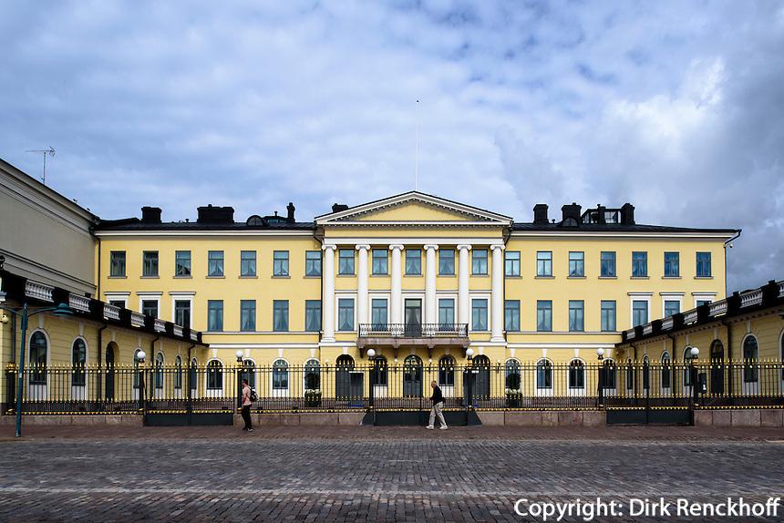 Präsidentenpalast in Helsinki, Finnland