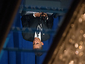 United States President Barack Obama is reflected in a ceiling mirror as he delivers remarks at a campaign event at the Capital Hilton Hotel in Washington, D.C. on Friday, September 28, 2012..Credit: Ron Sachs / Pool via CNP