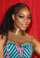 Rachel Adedeji at The British Soap Awards 2019 arrivals. The Lowry, Media City, Salford, Manchester, UK on June 1st 2019<br /> CAP/ROS<br /> ©ROS/Capital Pictures