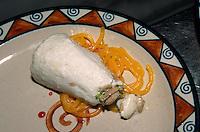 Indien, Delhi, Restaurant im Hotel Oberoi, Kulfi (indisches Milcheis)