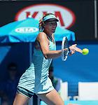 Maria Sharapova (RUS) Defeats Karin Knapp (ITA) 6-3, 4-6, 10-8