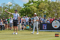 Tommy Fleetwood (ENG) looks over his tee shot on 7 during round 4 of the Arnold Palmer Invitational at Bay Hill Golf Club, Bay Hill, Florida. 3/10/2019.<br /> Picture: Golffile | Ken Murray<br /> <br /> <br /> All photo usage must carry mandatory copyright credit (© Golffile | Ken Murray)