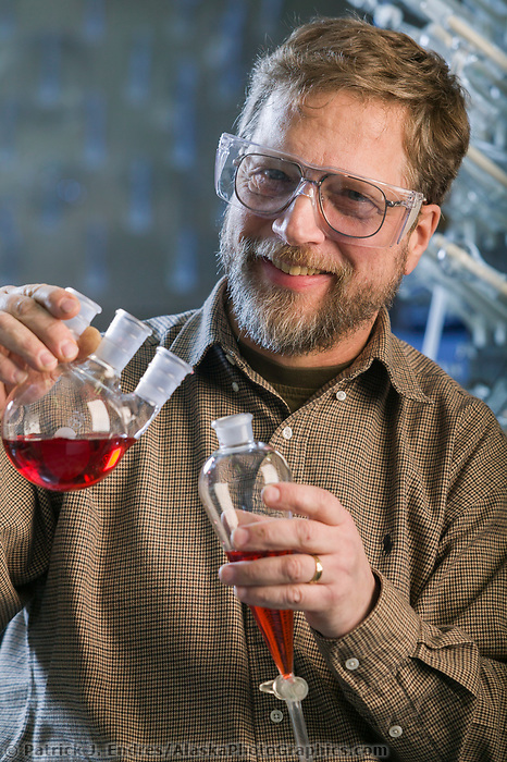 Chemistry professor Tom Claussen, UAF Fairbanks, Alaska