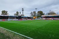 General view of the the KR-L stand ahead of Crawley Town vs Morecambe, Sky Bet EFL League 2 Football at Broadfield Stadium on 16th November 2019