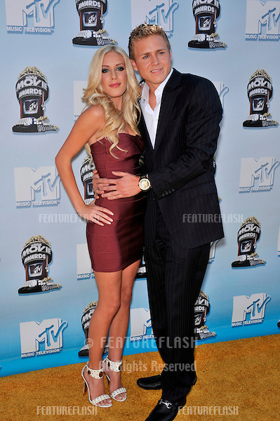 Heidi Montag & Spencer Pratt at the 2008 MTV Movie Awards at Universal Studios, Hollywood. .June 1, 2008  Los Angeles, CA..Picture: Paul Smith / Featureflash
