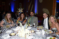Marianne Gonzalez and Francisco Gonzalez, Jennifer Wengert, and Henry Wengert attend The Boys and Girls Club of Miami Wild About Kids 2012 Gala at The Four Seasons, Miami, FL on October 20, 2012