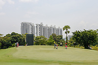A view of the green on 4 during Rd 2 of the Asia-Pacific Amateur Championship, Sentosa Golf Club, Singapore. 10/5/2018.<br /> Picture: Golffile | Ken Murray<br /> <br /> <br /> All photo usage must carry mandatory copyright credit (© Golffile | Ken Murray)