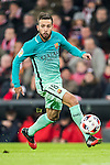 Jordi Alba Ramos of FC Barcelona in action during their Copa del Rey Round of 16 first leg match between Athletic Club and FC Barcelona at San Mames Stadium on 05 January 2017 in Bilbao, Spain. Photo by Victor Fraile / Power Sport Images