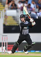 Tim Seifert.<br /> New Zealand Black Caps v Australia.Tri-Series International Twenty20 cricket. Eden Park, Auckland, New Zealand. Friday 16 February 2018. &copy; Copyright Photo: Andrew Cornaga / www.Photosport.nz
