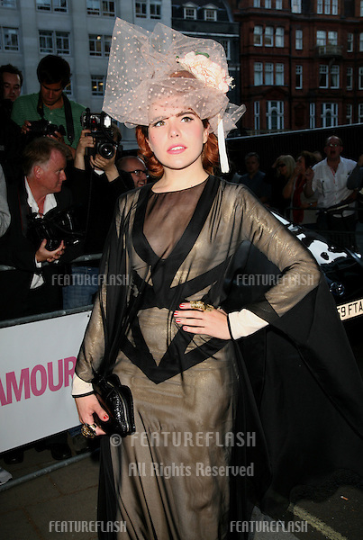 Paloma Faith arriving for the 2011 Glamour Awards, Berkeley Square, London. 07/06/2011 Picture by: Alexandra Glen / Featureflash