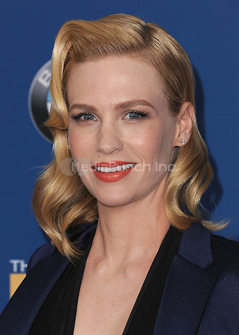 CENTURY CITY, CA - FEBRUARY 7:  January Jones at the 67th Annual DGA Awards at the Hyatt Regency Century Plaza on February 7, 2015 in Century City, California. Credit: PGSK/MediaPunch