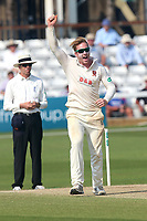 Delight for Simon Harmer of Essex as he claims his first five-wicket haul of the season during Essex CCC vs Warwickshire CCC, Specsavers County Championship Division 1 Cricket at The Cloudfm County Ground on 21st June 2017