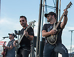 LO CASH performs during the Dustin Lynch Concert at the Reno Rodeo on Wednesday, June 14, 2017.