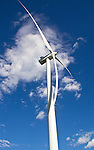 Wind Turbines, Palouse, Whitman County, Eastern Washington, Washington State, Pacific Northwest, United States, renewable energy, wind power, wind generated electricity,