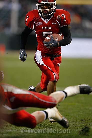 University of Utah vs. Georgia Tech, Emerald Bowl, San Francisco.<br />