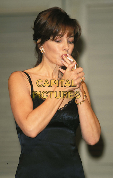 ANNE ARCHER.The Graduate photocall.Ref:10915.www.capitalpictures.com.sales@capitalpictures.com.© Capital Pictures.smoking, cigarette, theatre, mrs robinson.