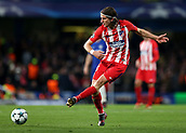 5th December 2017, Stamford Bridge, London, England; UEFA Champions League football, Chelsea versus Atletico Madrid; Filipe Luis of Atletico Madrid in passing action