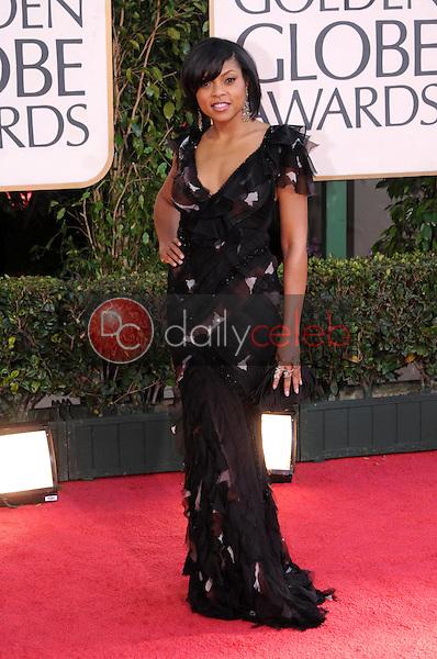 Taraji P. Henson<br />at the 66th Annual Golden Globe Awards. Beverly Hilton Hotel, Beverly Hills, CA. 01-11-09<br />Dave Edwards/DailyCeleb.com 818-249-4998