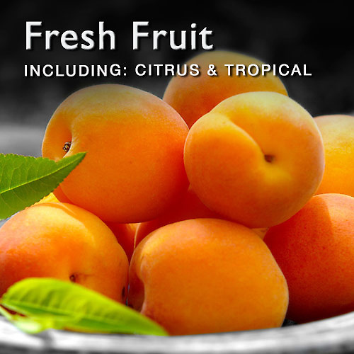Food Pictures & images of fresh fruit including citrus fruit and tropical fruit