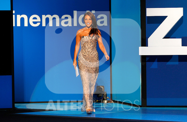 The actress Paula Echevarria during the Opening Gala of the 59th San Sebastian Donostia International Film Festival - Zinemaldia.September 16,2011. (ALTERPHOTOS/Acero)