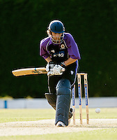 25 JUN 2009 - LOUGHBOROUGH,GBR - Paul Borrington (Loughborough UCCE) batting during the match against Cambridge UCCE - UCCE Twenty 20 (PHOTO (C) NIGEL FARROW)