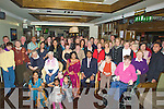 CELEBRATIONS: Staff,resident and friends of Cuil Didin Nursing Home,Tralee gathered at The Gally Bar & Restaurant,Castlemaine Road, Tralee on Friday night to celebrate the wedding of Subha Spillai and Girish Nair.................................. ....