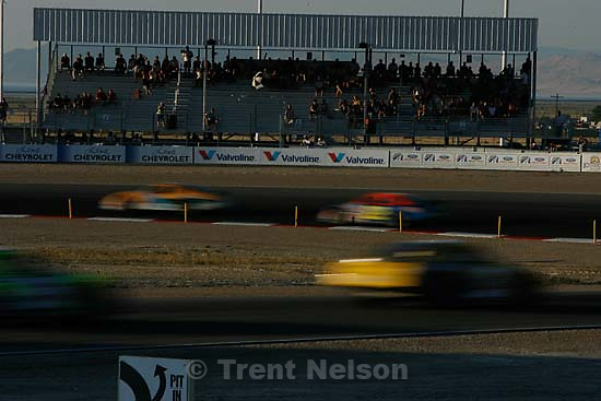 fans. Tooele - NASCAR Grand National West 150 at the Miller Motorsports Park.; 7.14.2007