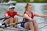 Race: 145  W.J14.2x  Final<br /> <br /> Peterborough Summer Regatta 2018 - Saturday<br /> <br /> To purchase this photo, or to see pricing information for Prints and Downloads, click the blue 'Add to Cart' button at the top-right of the page.