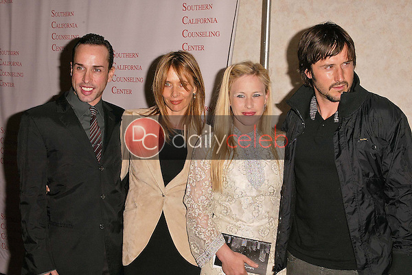 Alexis Arquette, Rosanna Arquette, Patricia Arquette and David Arquette