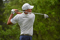 Matt Kuchar (USA) watches his tee shot on 1 during day 3 of the Valero Texas Open, at the TPC San Antonio Oaks Course, San Antonio, Texas, USA. 4/6/2019.<br /> Picture: Golffile | Ken Murray<br /> <br /> <br /> All photo usage must carry mandatory copyright credit (&copy; Golffile | Ken Murray)