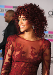LOS ANGELES, CA. - November 21: Rihanna arrives at the 2010 American Music Awards held at Nokia Theatre L.A. Live on November 21, 2010 in Los Angeles, California.