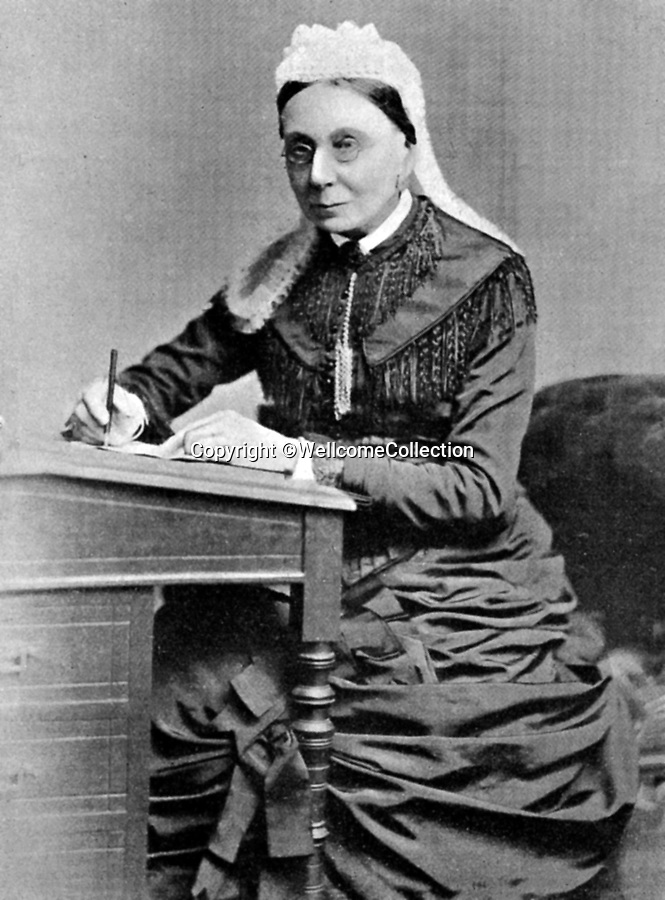 BNPS.co.uk (01202 558833)<br /> Pic: Amberley/BNPS<br /> <br /> Pictured: Nurse, Sarah Elizabeth Wardroper<br /> <br /> These rarely seen photos which provide a fascinating insight into British nursing in late 19th century feature in a new book.<br /> <br /> They reveal how the all-action nurses not only cared for patients but also prepared meals for them and did their laundry.<br /> <br /> Such was their ferocious work ethic, it is perhaps surprising they had time to be pictured sitting down together in the nurses dining room.<br /> <br /> One photo shows trainee nurses during a bandaging class, while another is of a busy male ward.<br /> <br /> The images are published in A History of Nursing, by former nurse Louise Wyatt who has charted the development of nursing from antiquity and the Middle Ages to the present day.