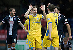 Ross County v St Johnstone&hellip;18.02.17     SPFL    Global Energy Stadium, Dingwall<br />Steven MacLean celebrates his goal<br />Picture by Graeme Hart.<br />Copyright Perthshire Picture Agency<br />Tel: 01738 623350  Mobile: 07990 594431