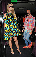 Vogue Williams and Spencer Matthews at the Lost + Found cocktail bar pop-up launch party, The Den at 100 Wardour Street, Wardour Street, London, England, UK, on Wednesday 06 June 2018.<br /> CAP/CAN<br /> &copy;CAN/Capital Pictures