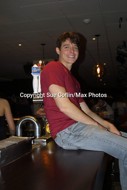 All My Children's Daniel Kennedy at the 2009 Daytime Stars and Strikes to benefit the American Cancer Society on October 11, 2009 at the Port Authority Leisure Lanes, New York City, New York. (Photo by Sue Coflin/Max Photos)