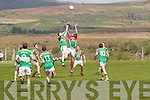 Some great aerial battles in the encounter as St Michaels/Foilmores Sean O'Connor and Legion's Shaun Keane battle it out in the air, pictured Sean O'Connor winning this one.