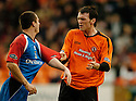 18/02/2006         Copyright Pic: James Stewart.File Name : sct_jspa09_dundee_utd_v_inverness.RUSSELL DUNCAN AND LEE MILLER SQUARE UP TO ONE ANOTHER.Payments to :.James Stewart Photo Agency 19 Carronlea Drive, Falkirk. FK2 8DN      Vat Reg No. 607 6932 25.Office     : +44 (0)1324 570906     .Mobile   : +44 (0)7721 416997.Fax         : +44 (0)1324 570906.E-mail  :  jim@jspa.co.uk.If you require further information then contact Jim Stewart on any of the numbers above.........