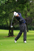 Richard Knightly (Royal Dublin) on the 3rd tee during round 1 of The Mullingar Scratch Cup in Mullingar Golf Club on Sunday 3rd August 2014.<br /> Picture:  Thos Caffrey / www.golffile.ie