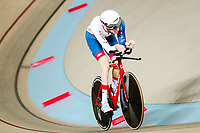 Picture by Alex Whitehead/SWpix.com - 22/03/2018 - Cycling - 2018 UCI Para-Cycling Track World Championships - Rio de Janeiro Municipal Velodrome, Barra da Tijuca, Brazil - Louis Rolfe of Great Britain competes in the Men's C2 Individual Pursuit qualifying.