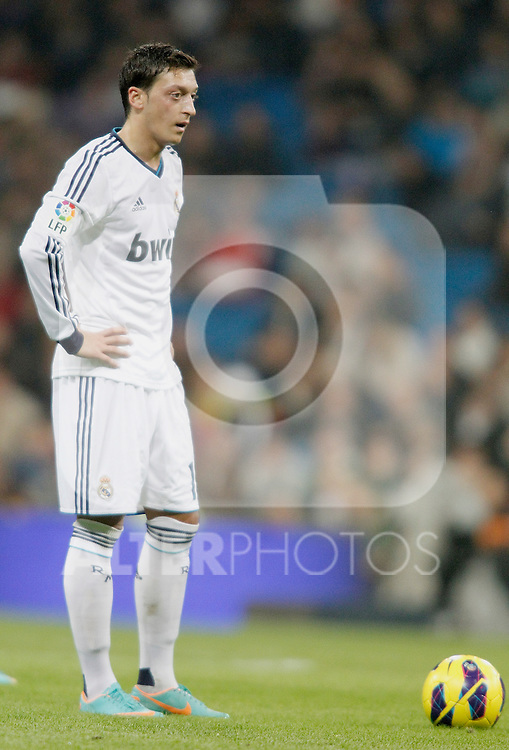 Real Madrid's Mesut Özil during La Liga Match. November 03, 2012. (ALTERPHOTOS/Alvaro Hernandez)