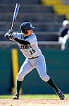 24 April 2007: Dartmouth College Big Green James Wren, a Freshman from Granbury, TX, in action against the University of Vermont Catamounts at Historic Centennial Field, in Burlington, Vermont...Mandatory Photo Credit: Ed Wolfstein Photo