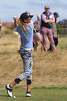 Klara Spilkova (CZR) on the 2nd fairway during Round 3 of the Ricoh Women's British Open at Royal Lytham &amp; St. Annes on Saturday 4th August 2018.<br /> Picture:  Thos Caffrey / Golffile<br /> <br /> All photo usage must carry mandatory copyright credit (&copy; Golffile   Thos Caffrey)