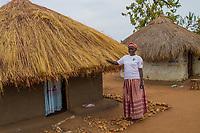 """Amina Likicho musste aus dem Südsudan ins BidiBidi Camp Uganda flüchten. Sie leitet die Gruppe """"Amalu and Mongita Savings Group"""". Die Frauen sparen gemeinsam, von den Ersparnissen werden Investitionen genehmigt. Über eine Million Südsudanesen sind nach Uganda geflüchtet."""