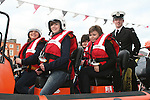 Katie Turner, Karla Kane, Katie Lee Reynolds and Elizabeth Doran in the Coastguard boat at Scotch Hall..Photo NEWSFILE/Jenny Matthews.(Photo credit should read Jenny Matthews/NEWSFILE)....This Picture has been sent you under the condtions enclosed by:.Newsfile Ltd..The Studio,.Millmount Abbey,.Drogheda,.Co Meath..Ireland..Tel: +353(0)41-9871240.Fax: +353(0)41-9871260.GSM: +353(0)86-2500958.email: pictures@newsfile.ie.www.newsfile.ie.FTP: 193.120.102.198.